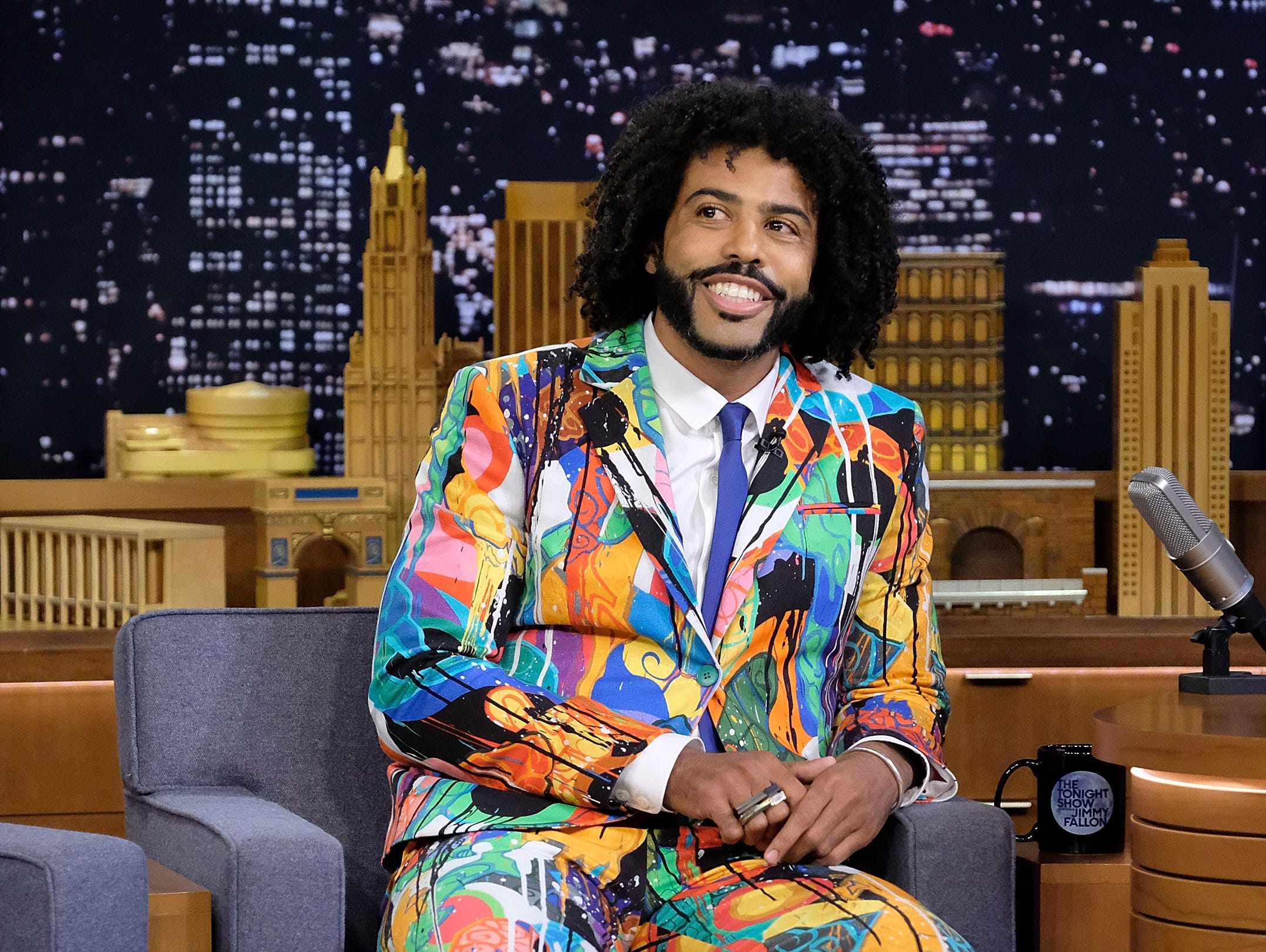 """July 18: Daveed Diggs visits """"The Tonight Show Starring Jimmy Fallon"""" in New York City."""