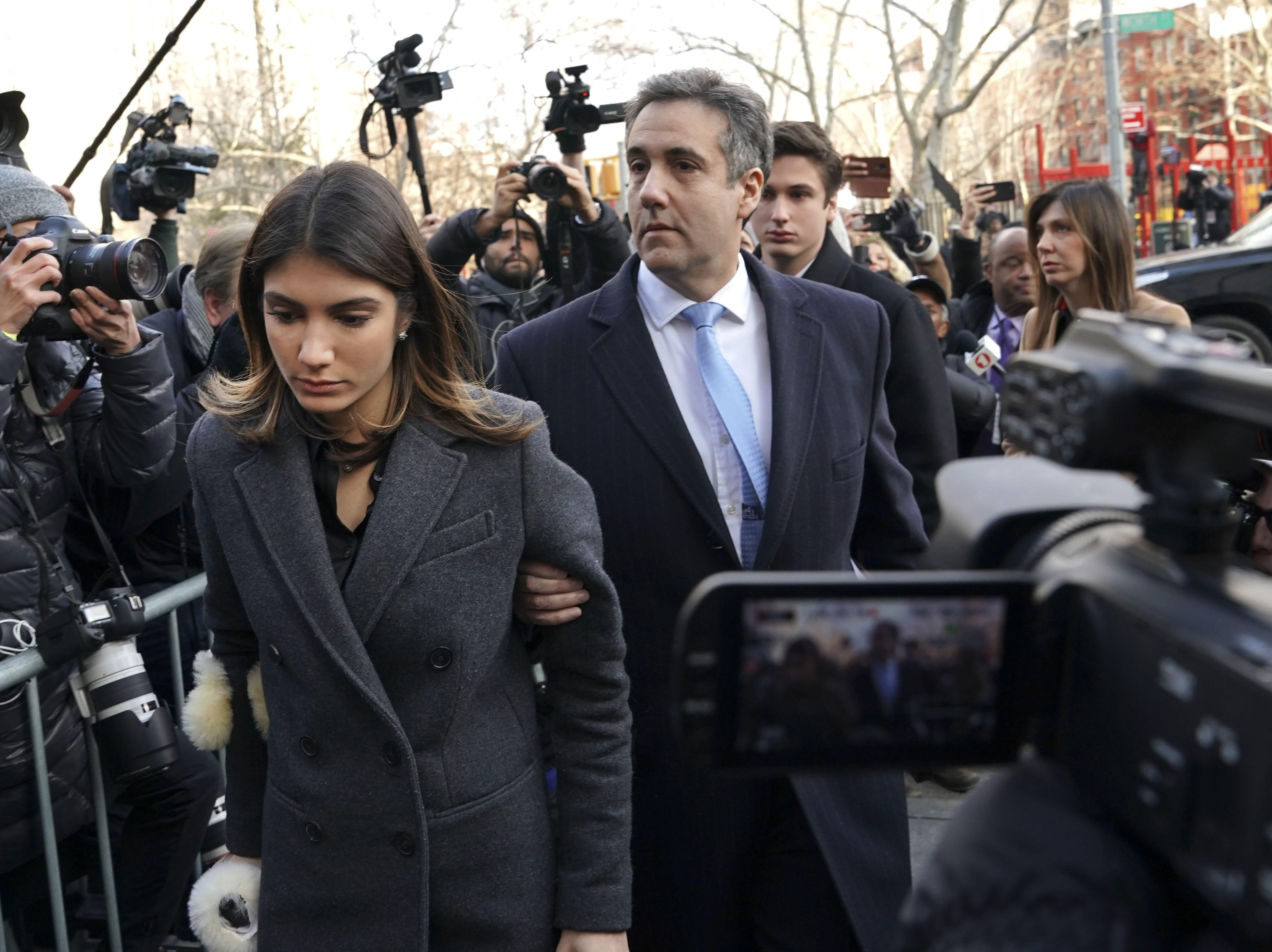 Image result for photos images cohen in court december 2018