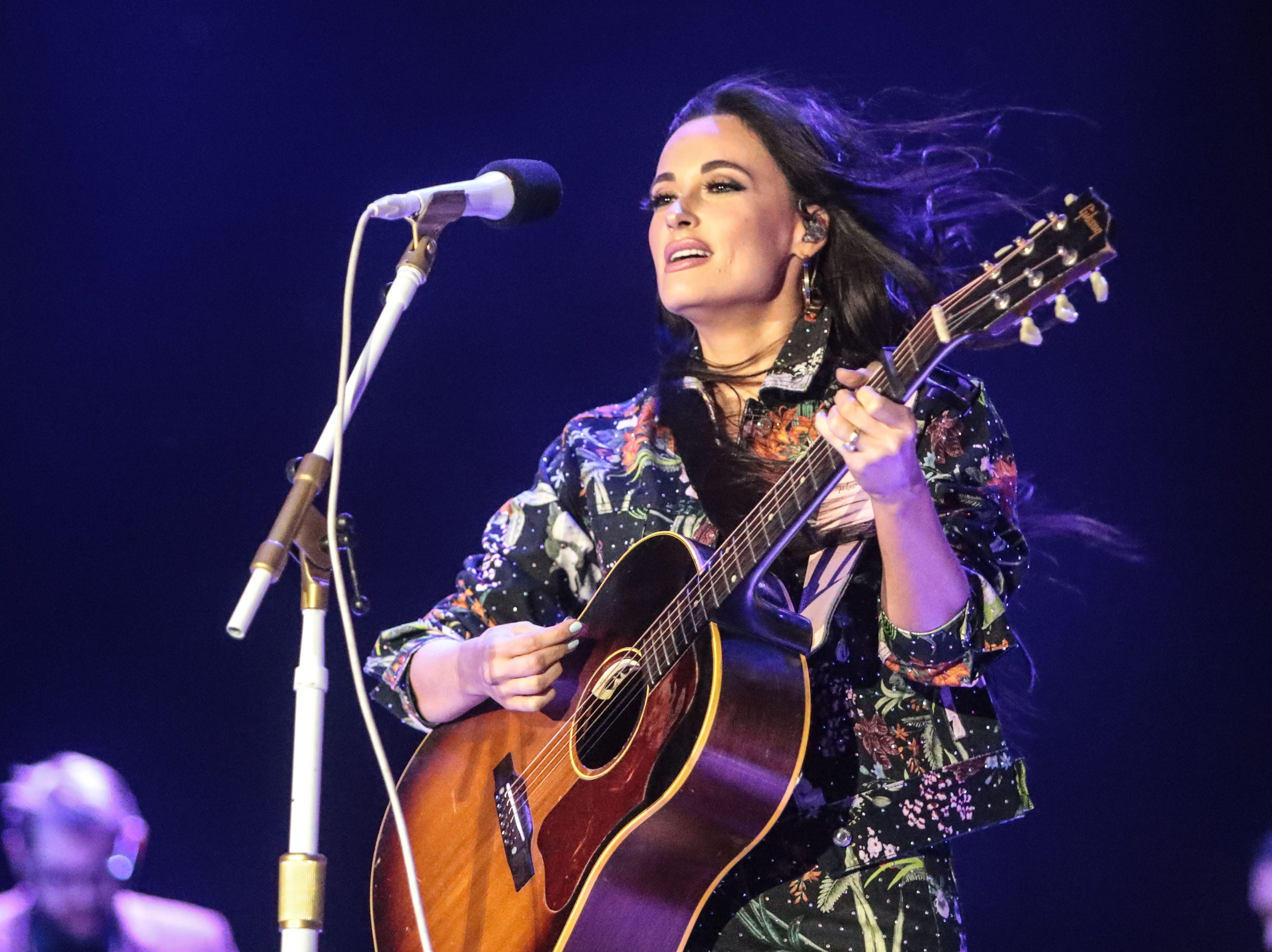 Apr 28: Kacey Musgraves performs during the Stagecoach Country Music Festival.