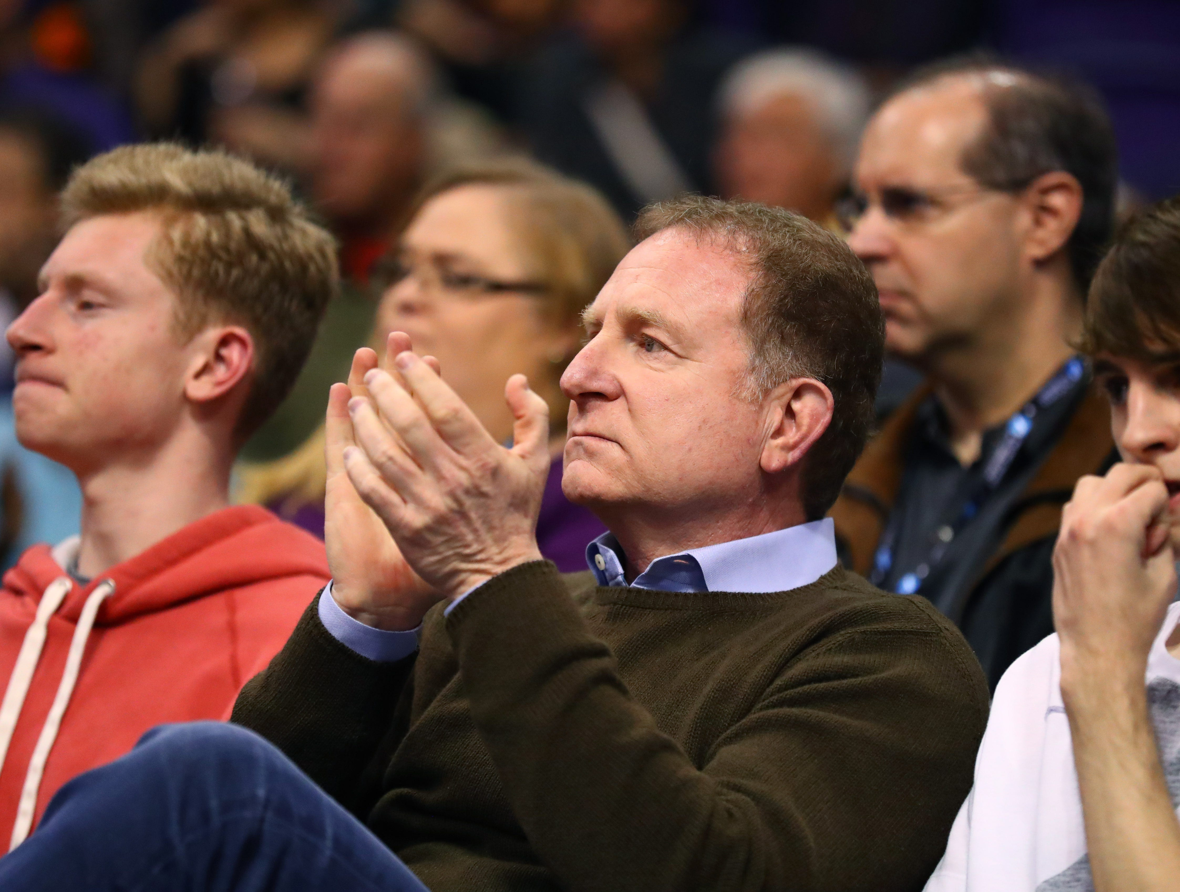 After threatening to move, owner Robert Sarver insists: 'Suns are not leaving Phoenix'