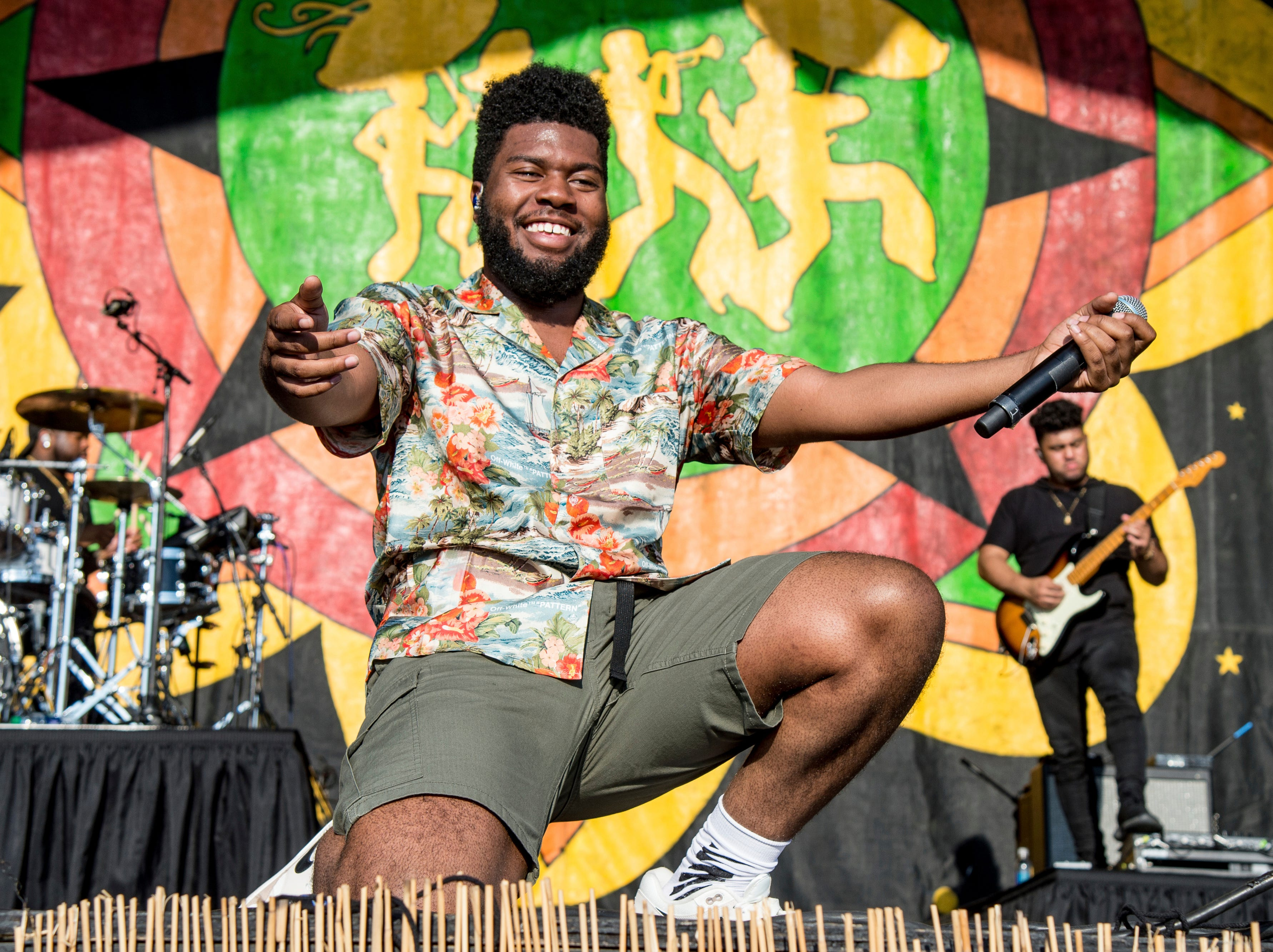April 28: Khalid performs at the New Orleans Jazz and Heritage Festival.