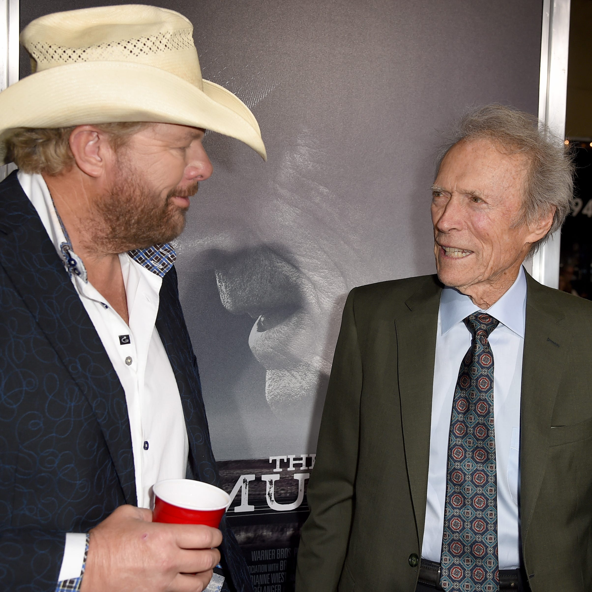 How Toby Keith needed a 'bigger bucket' thanks to Clint Eastwood's 'Mule'