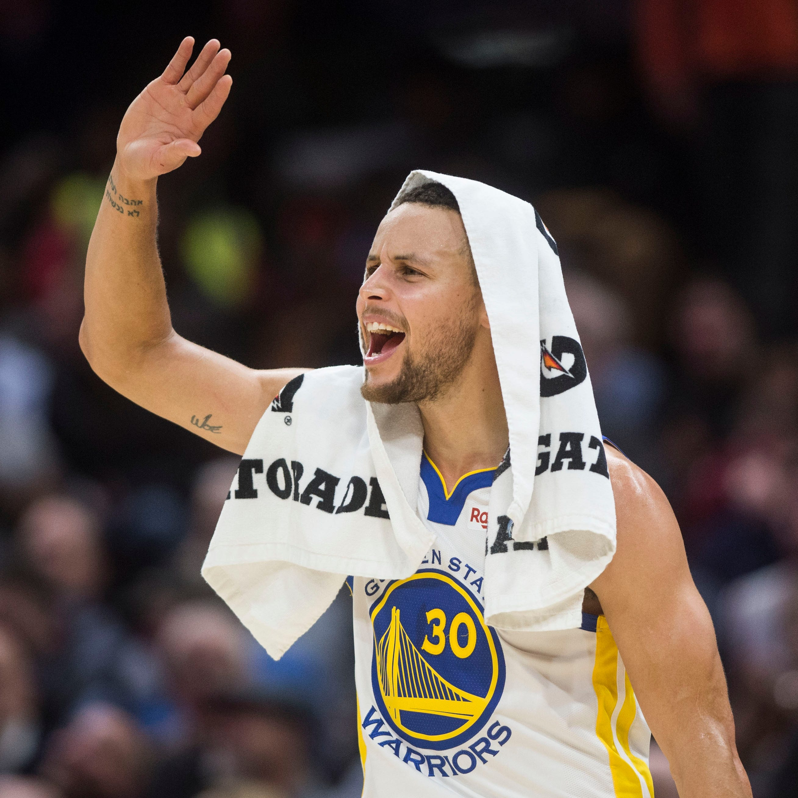 Stephen Curry plans to go to NASA's Johnson Space Center in Houston.
