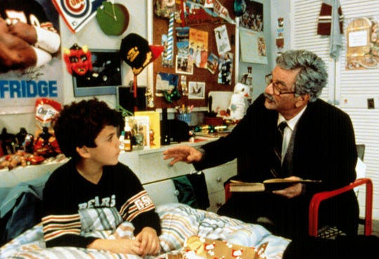 """Fred Savage, left, and Peter Falk in the 1987 film """"The Princess Bride."""""""