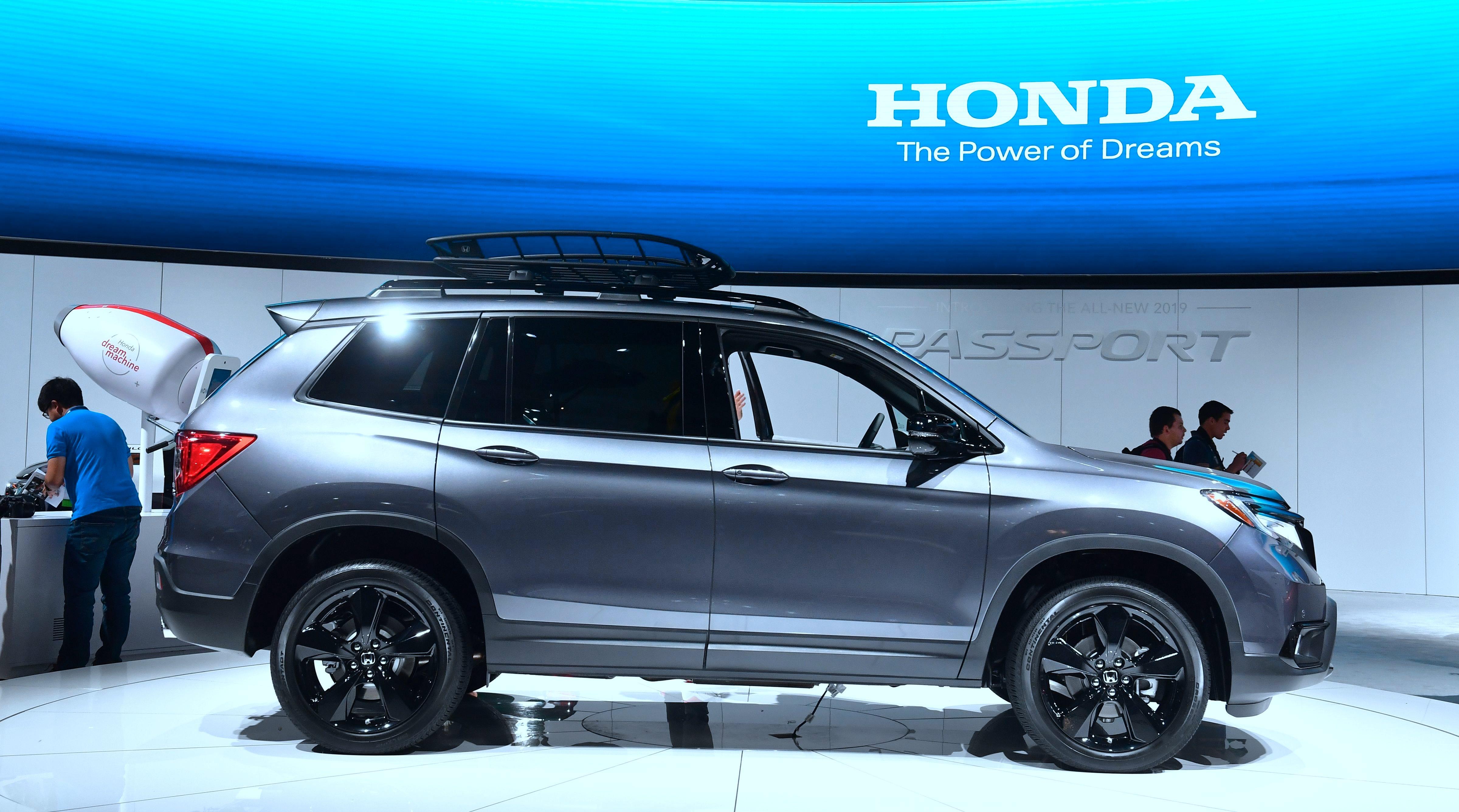 2019 Honda Passport AWD Elite