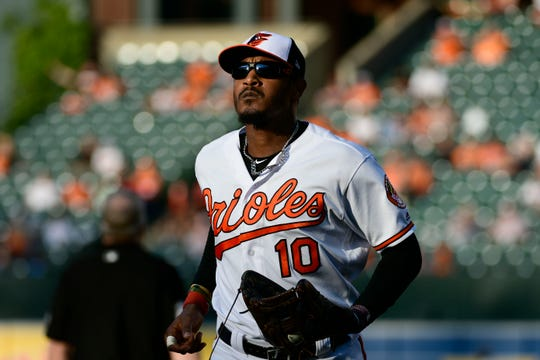 Adam Jones refused a midseason trade from the Orioles in 2018.