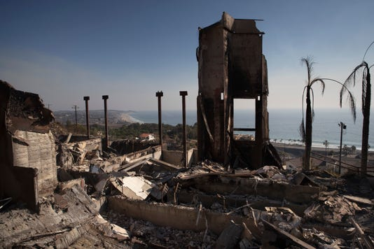 Ap California Wildfires Cleanup A File Usa Ca