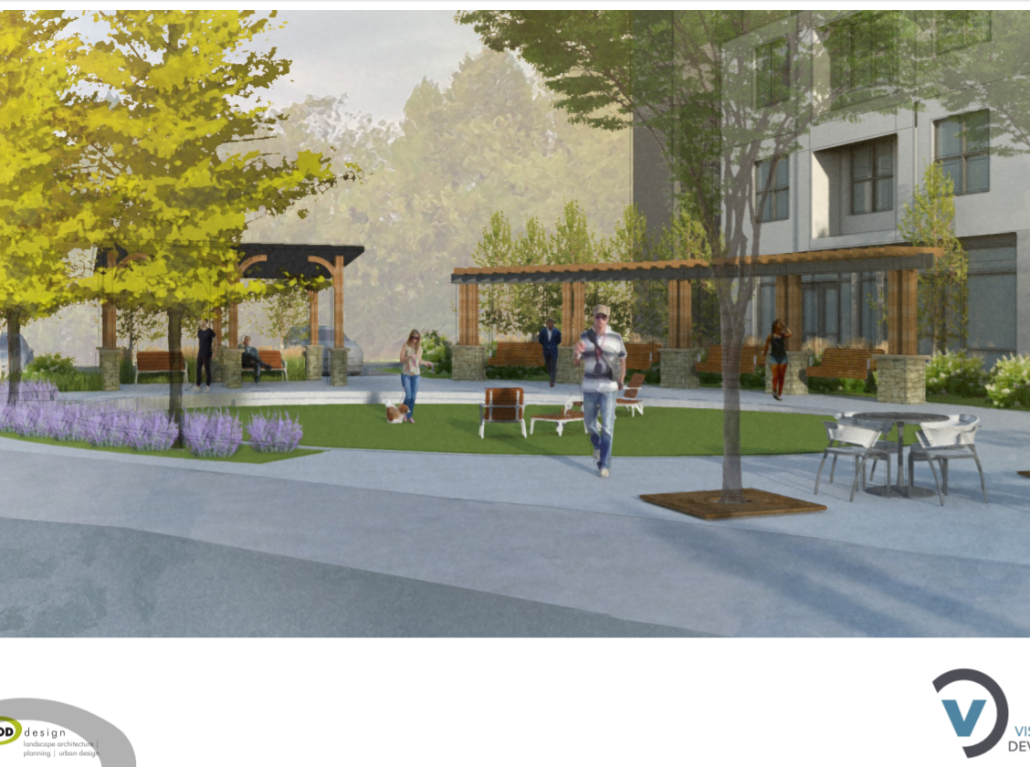 Proposed Keowee Trail development renderings