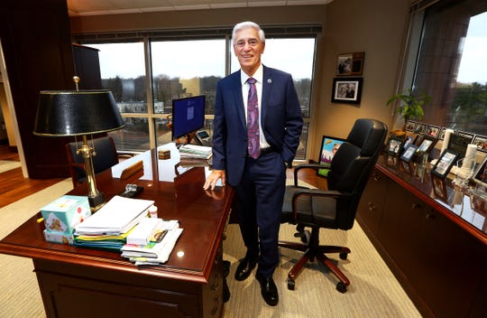 John Lloyd, co-CEO of Hackensack Meridian Health, will be retiring at the end of the year. December 12, 2018, Edison, NJ