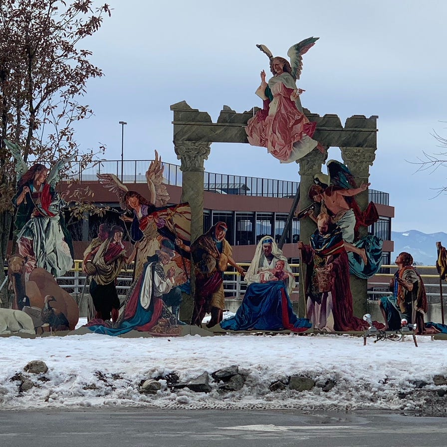Christmas Nativity at Mission St. Joe's a local 'work of art'