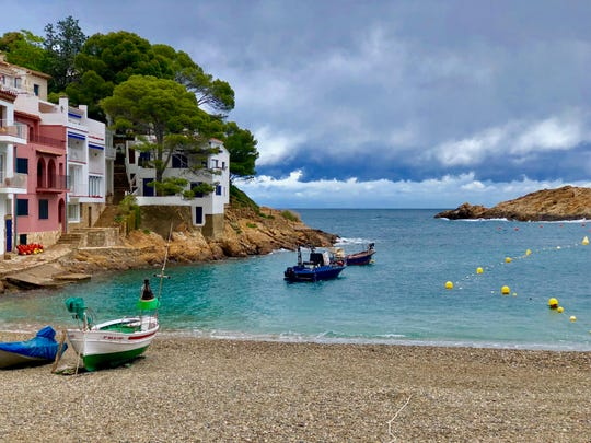 Cala d'Aiguafreda in Begur, Spain/courtesy of Katie Button.