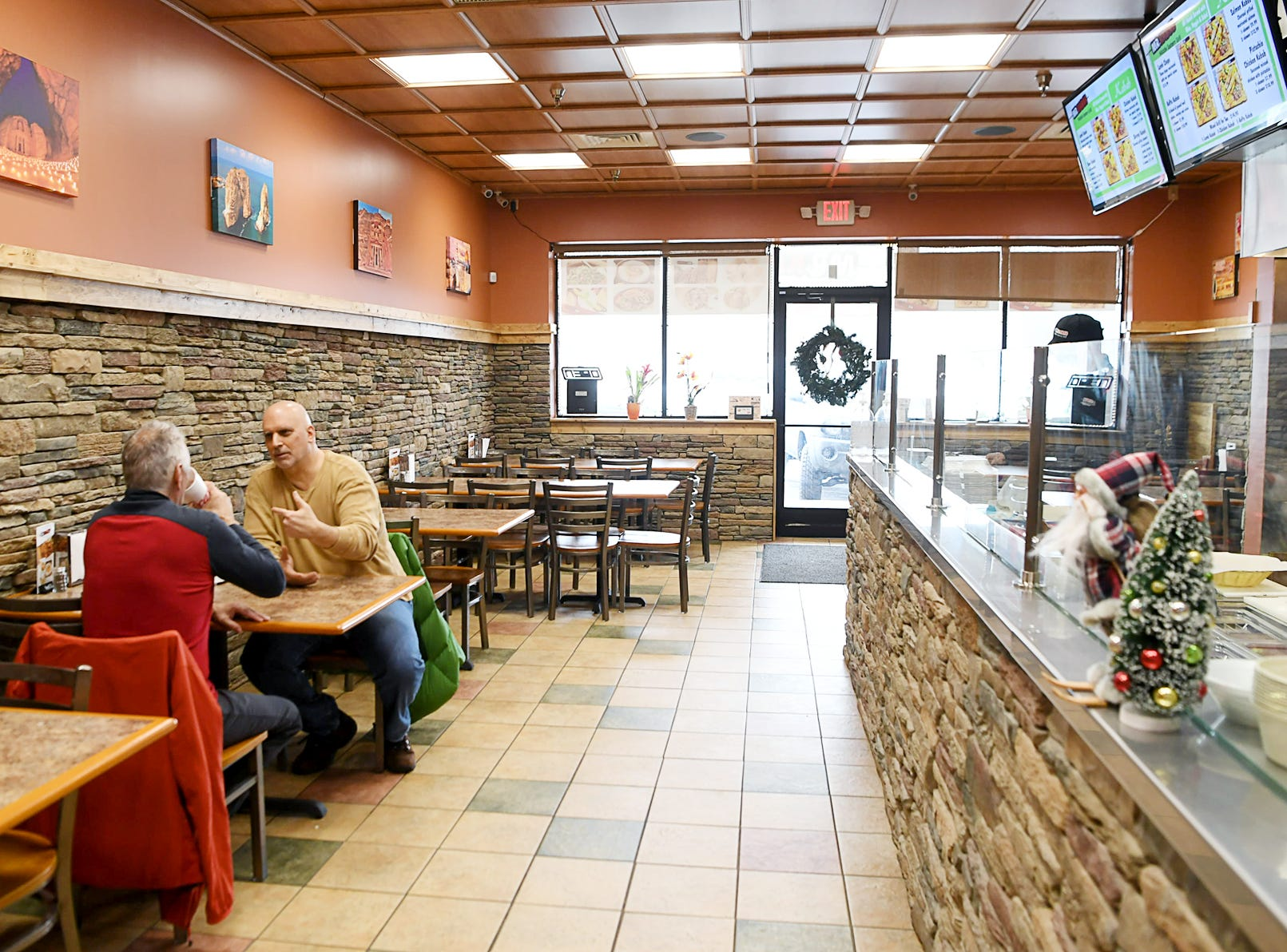 Inside Mr. Kabab, a new Middle Eastern restaurant in a strip mall in East Asheville Dec. 11, 2018.