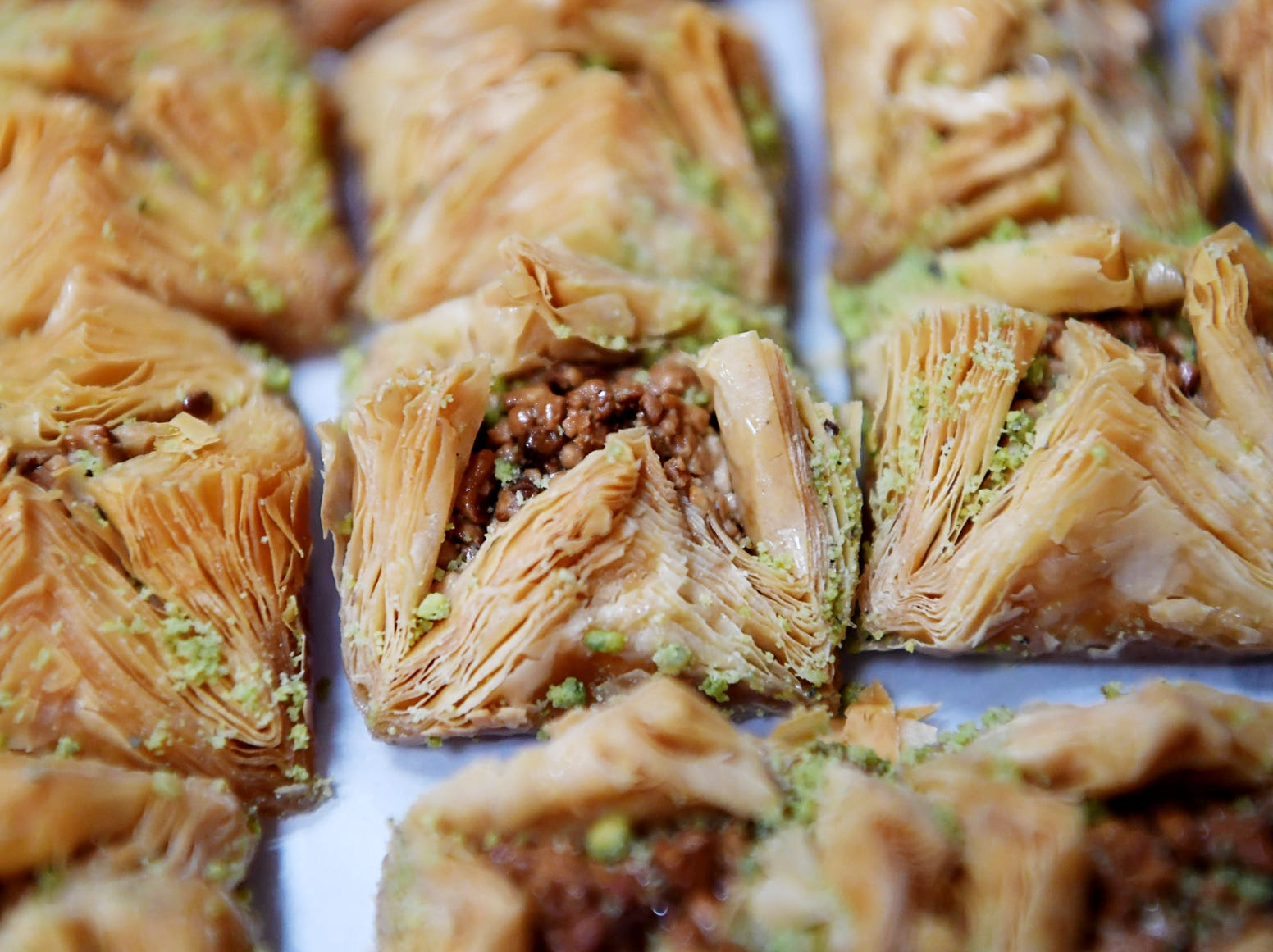Mr. Kabab had several types of baklava for sale Dec. 11, 2018.