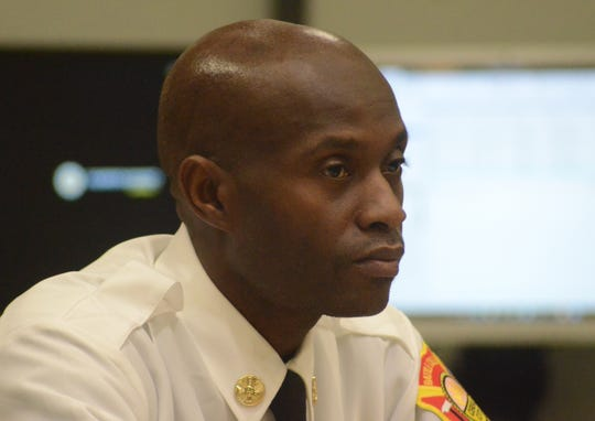 Battle Creek Fire Marshal Quincy Jones.