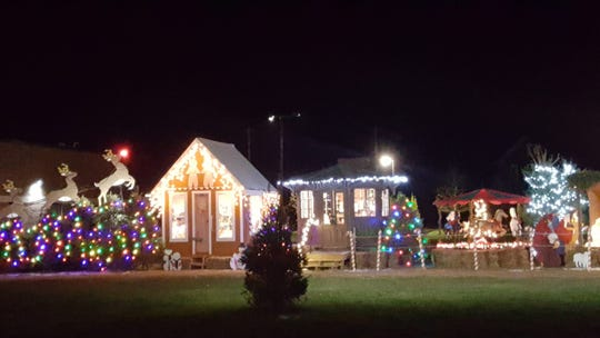 Christmas Land is next to Southport Fire Department at1001 Carl St. in Elmira.