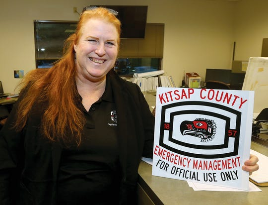 Lis Klute, Kitsap County's new emergency management director, is one of four people in the county's emergency management office.