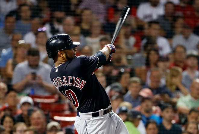 The Mariners acquired Edwin Encarnacion from the Indians in exchange for Carlos Santana. It's not clear if Encarnacion will ever actually play for Seattle, however.