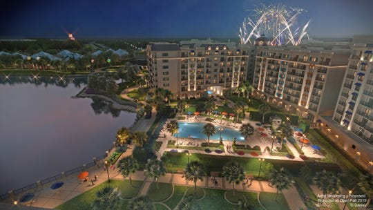 Inspired by the European grandeur Walt Disney experienced in his travels along the Mediterranean coastline, Disney's Riviera Resort is projected to open in fall 2019. This proposed resort will be the 15th Disney Vacation Club property. (Disney)