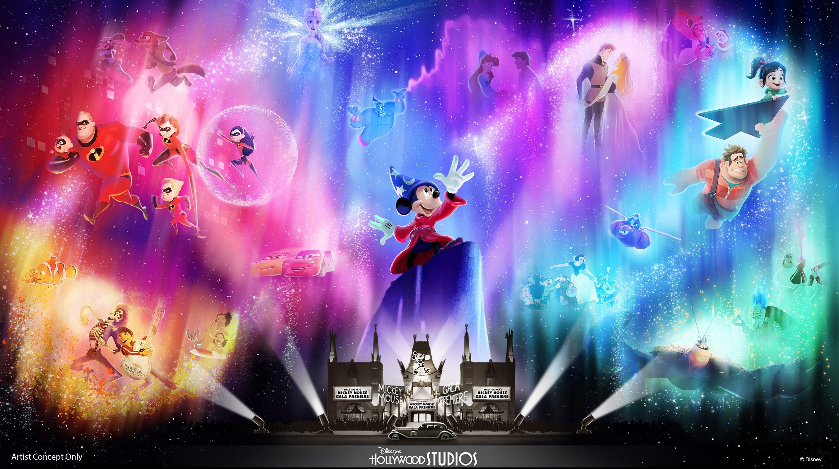 Wonderful World of Animation – a new nighttime...