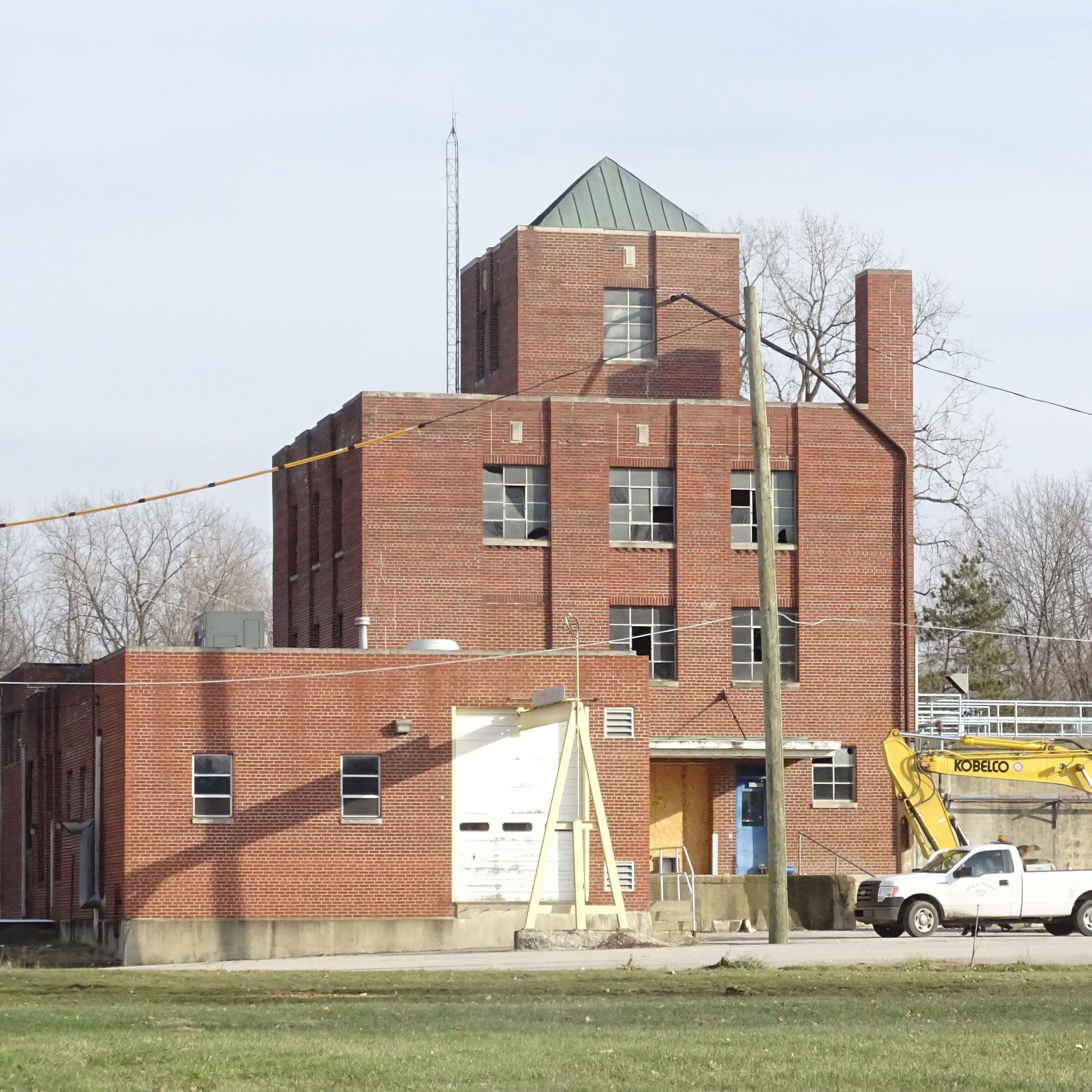 Former water plant to be demolished after first of the year