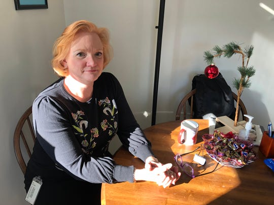Bennington County State's Attorney Erica Marthage, pictured in her office on  Dec. 7 2018