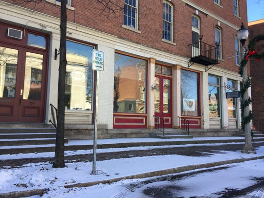 The Bennington County Democratic Party had an office on this block of Main Street in downtown Bennington in October 2016, when the office received racist materials and a harassing phone call.