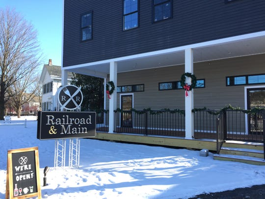 Essex Grill owners Courtney and Todd Roman have re-branded their Essex Junction restaurant as Railroad & Main.