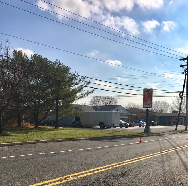 A woman was struck and killed while crossing Fries Mill Road in Washington Township near Yogi's Quick Shop.