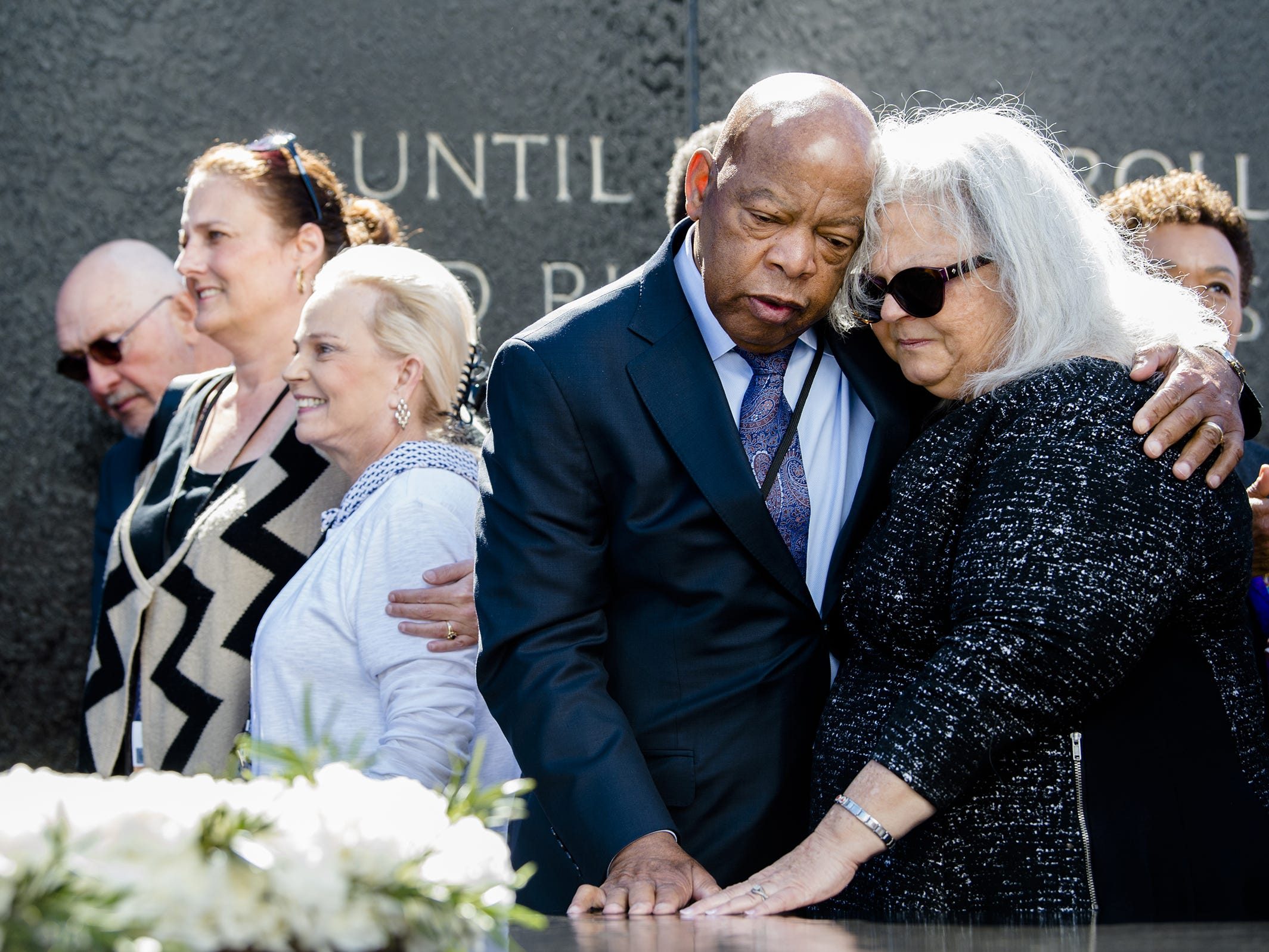 It was always a pleasure and an honor to photograph Rep. John Lewis. I've done it many times before his annual visit to Selma, Alabama, for the anniversary of the Selma to Montgomery Civil Rights March. He always made it a point to say hello, always humble and gracious.  