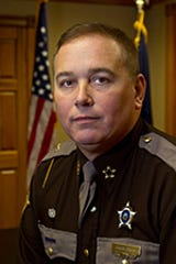 Outgoing Grant County Sheriff Chuck Dills, who is set to become the county's new judge-executive.