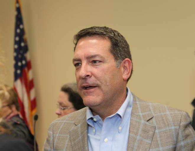 U.S. Rep. Mark Green sent a letter Friday requesting his pay be withheld during the partial government shutdown.