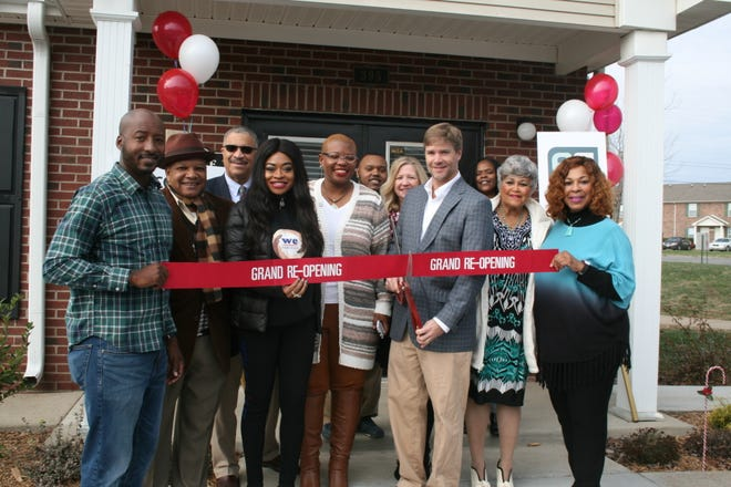 The apartments are on Jack Miller road near Fort Campbell and feature two and three-bedroom apartment homes with modern kitchens, an outdoor pool, a playground and a community room.