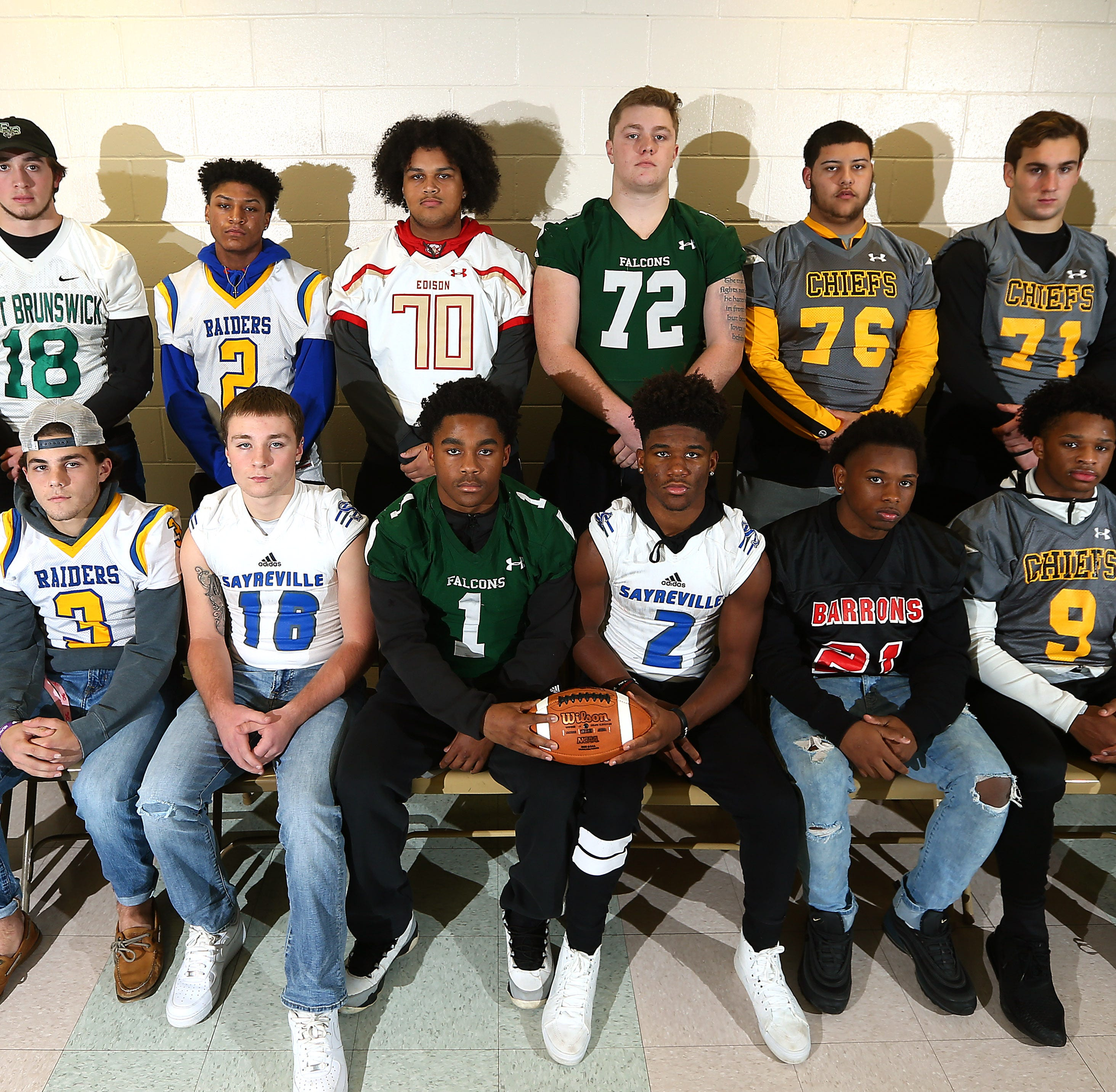 Football: Home News Tribune 2018 All-GMC Offense