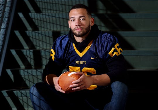 Antonio Alfano, senior defensive tackle from Colonia, playing next year for Alabama. Home News Tribune All Area football. December 12, 2018, East Brunswick, NJ