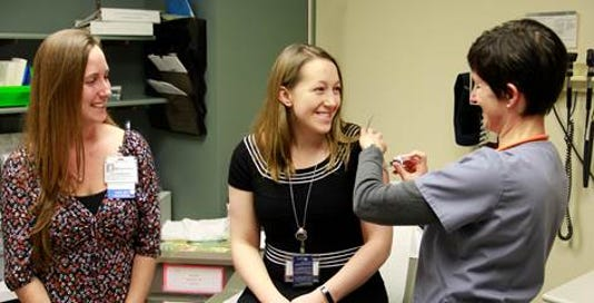 Heartbeats: Hunterdon Medical Center makes Influenza Vaccination Honor Roll PHOTO CAPTION