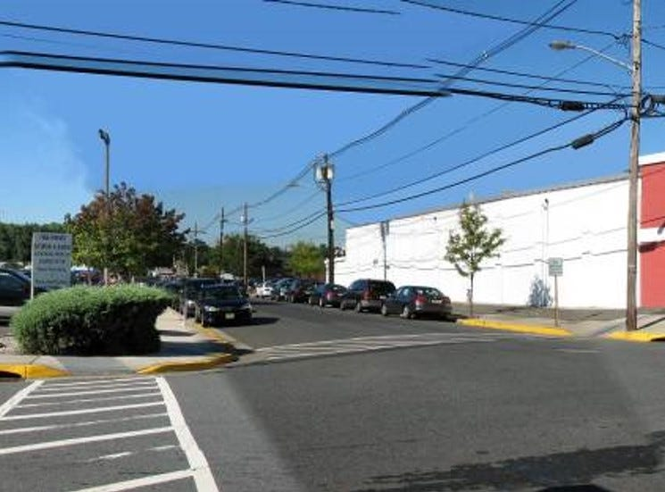 Former Metuchen commuter parking lot