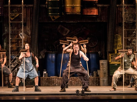 State Theatre New Jersey in New Brunswick will present the return of STOMP for three performances at 8 p.m. on Friday, Jan. 11, and 2 and 8 p.m. on Saturday, Jan. 12. Tickets range from $35 to $98.