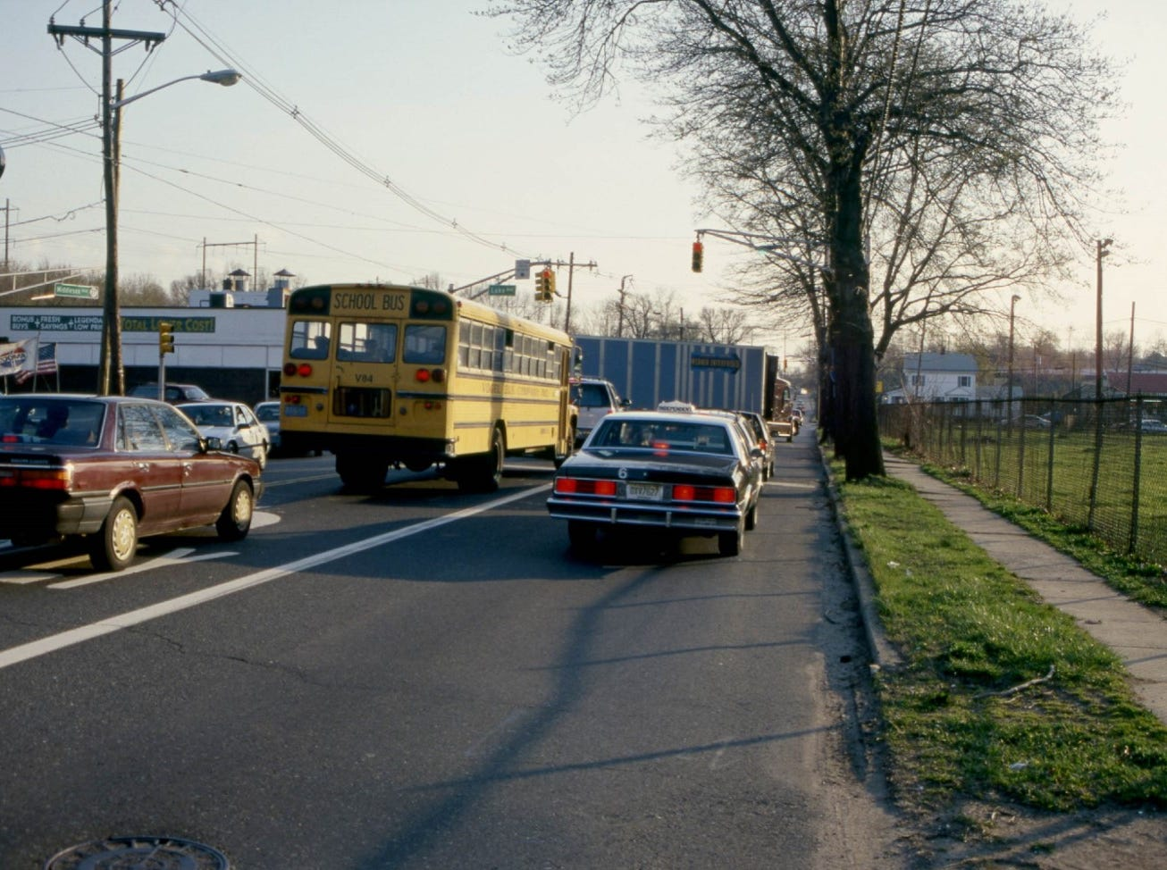 Metuchen, Middlesex Avenue, 1988