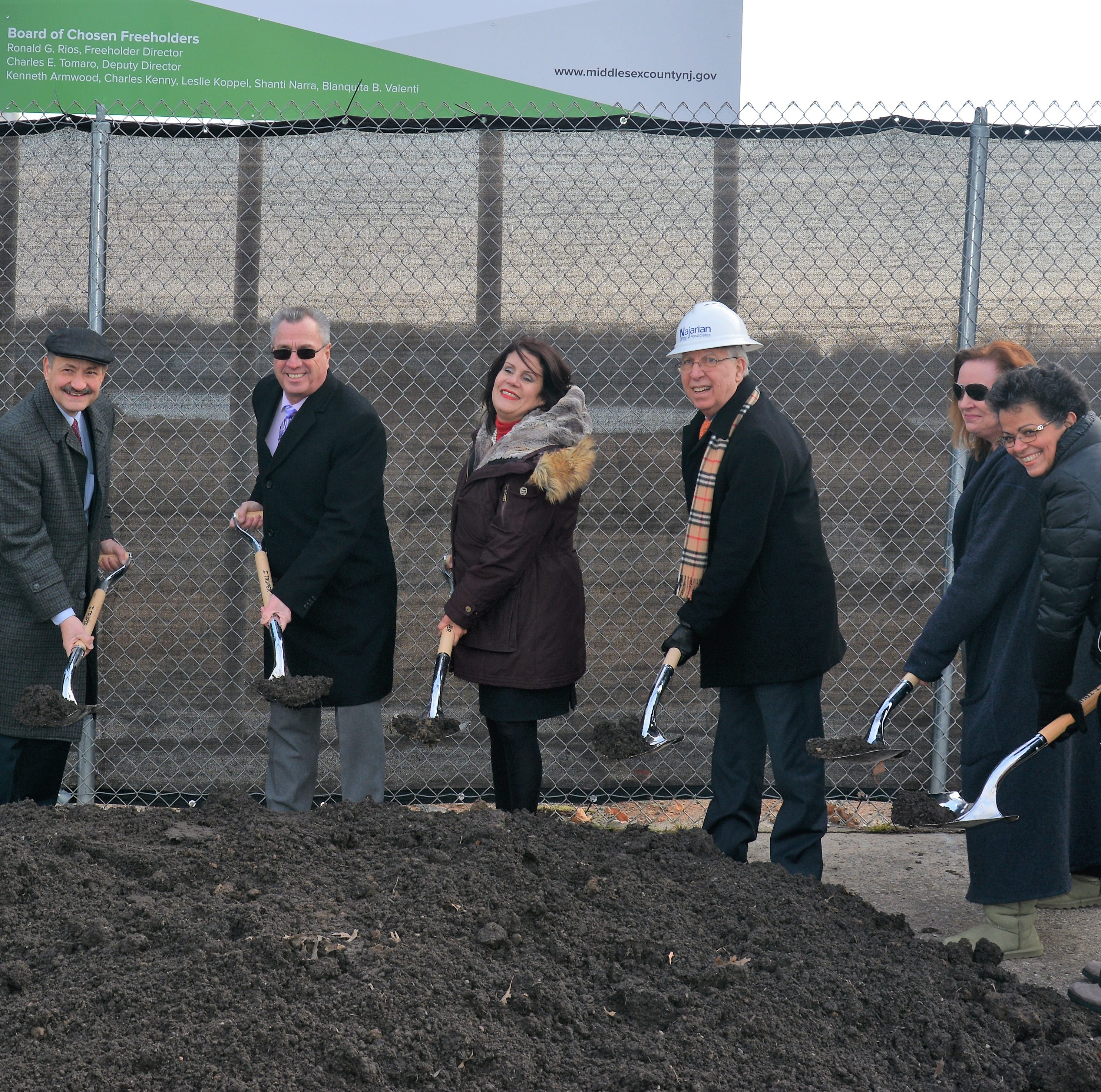 Middlesex County breaks ground on Perth Amboy Waterfront Park
