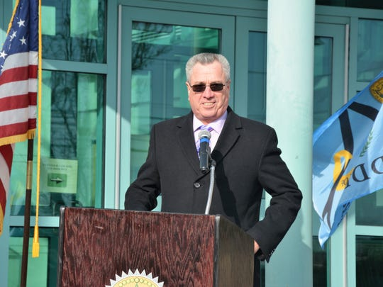 On Wednesday, city, Middlesex County and state officials, including Middlesex County Freeholder Director Ronald G. Rios as well as members of the public gathered as ground was broken on a new waterfront park on High Street.