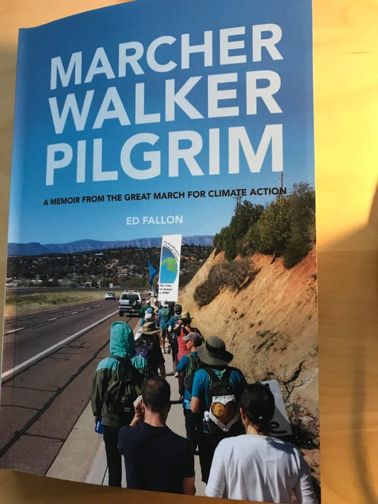 Ed Fallon's memoir of a cross-country walk for a cause