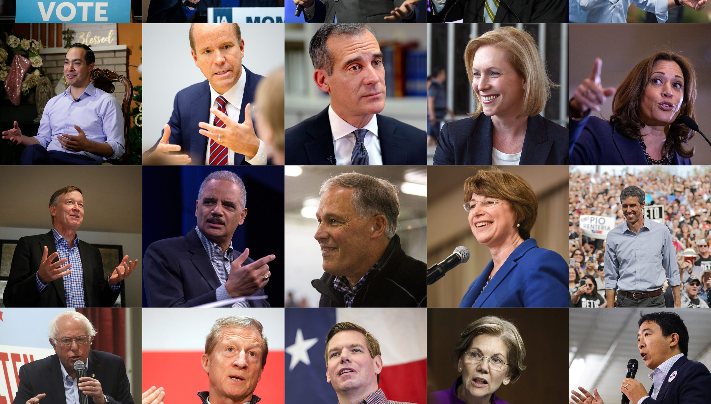 A guide to Democrats running for president and what likely Iowa caucusgoers think of them