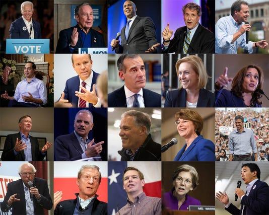 Caucuses Contenders 2020