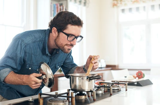 Indulging His Inner Chef