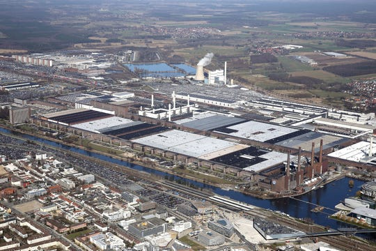 Volkswagen factory and global headquarters in Wolfsburg, Germany