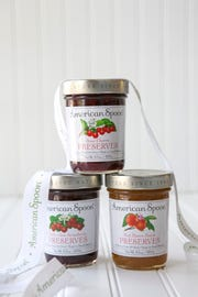 A trio of preserves from American Spoon Foods.