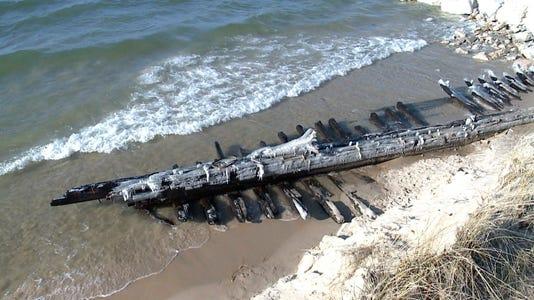 Ap Lake Michigan Shipwreck C