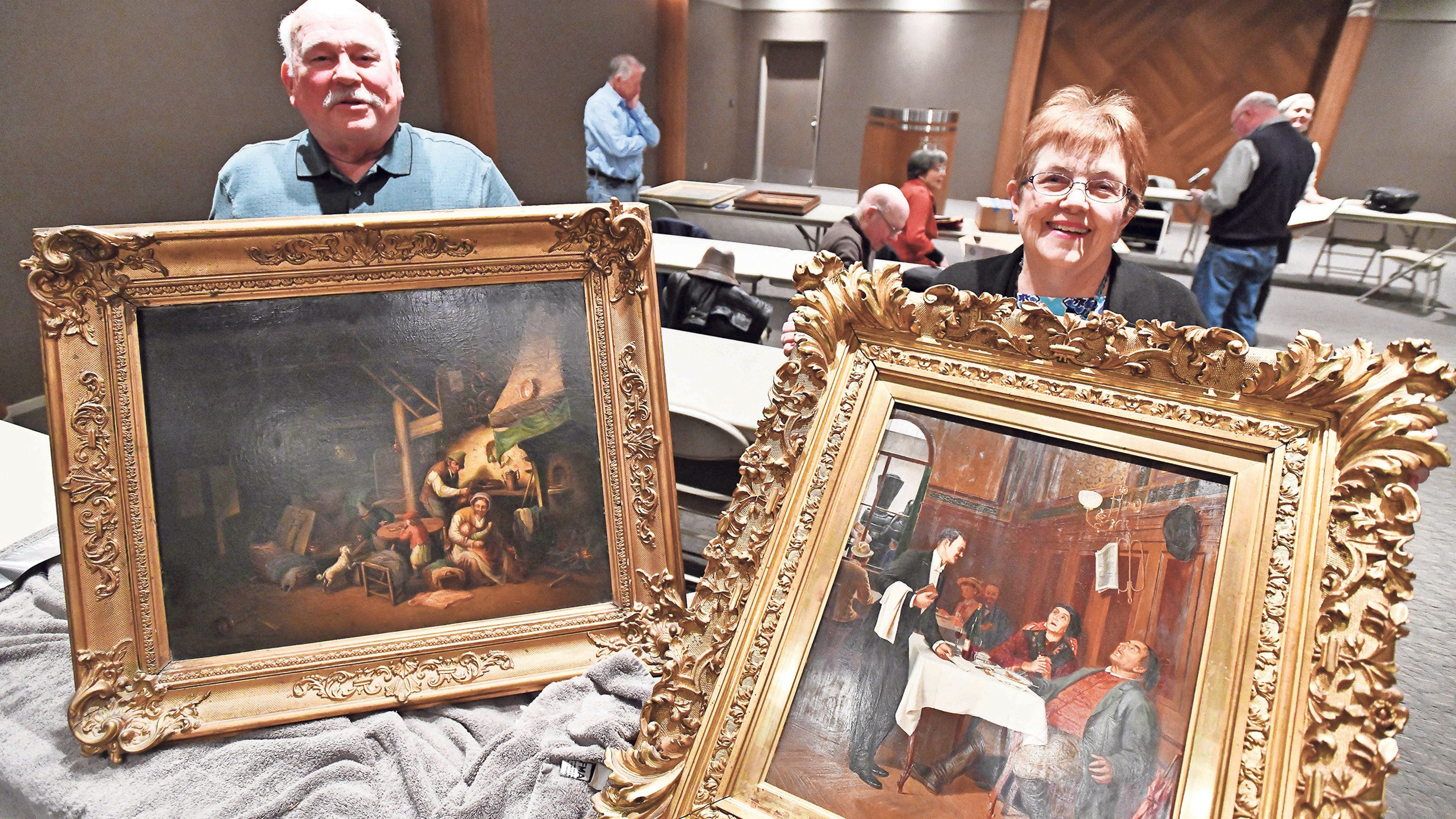 Treasure: Genre painting depicts everyday life