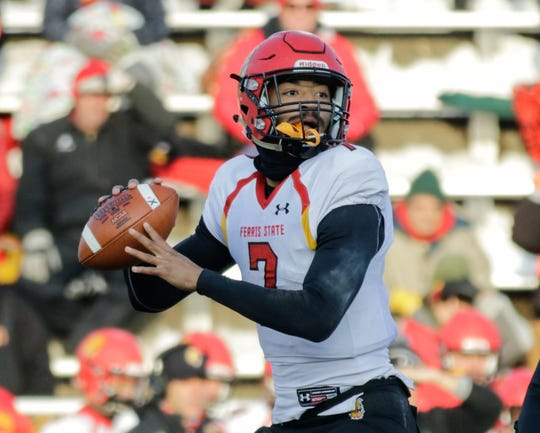 Jayru Campbell, the reigning winner of the Harlon Hill Trophy, which is the Division II equivalent of the Heisman, missed the first game of the season, played the next two,  then wasn't at this past weekend's game at Northern Michigan.