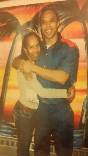 Donyelle Woods and his mother, Joanne Edison.